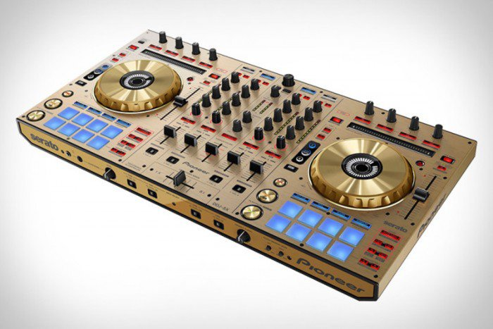Limited Edition Pioneer DDJ-SX Gold Edition DJ Controller