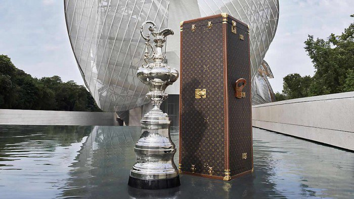 Louis Vuitton with the America's Cup