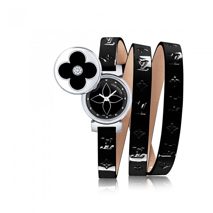 Louis Vuitton's Tambour Bijou secret watch