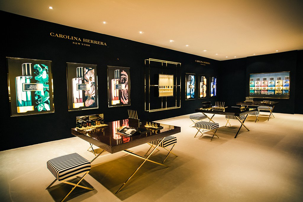 Carolina Herreras Herrera Confidential Collection Luxury Retail