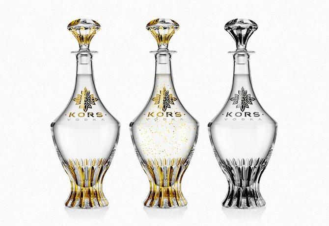 Kors Vodka Bottles