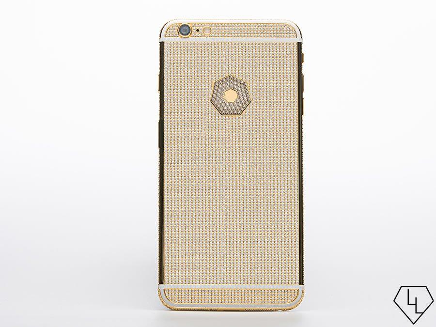 Luxuryretail_diamond-studded-iPhone-6S-customize-Apple