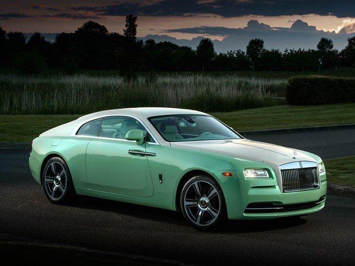 Jade Pearl Rolls-Royce