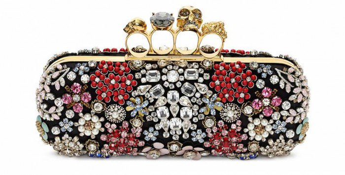The new Alexander McQueen Knuckle Box Clutches