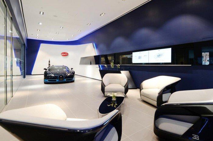 Bugatti Showrooms New York and Miami