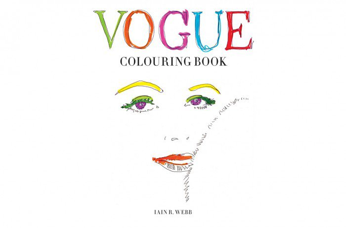 The First Vogue Coloring Book
