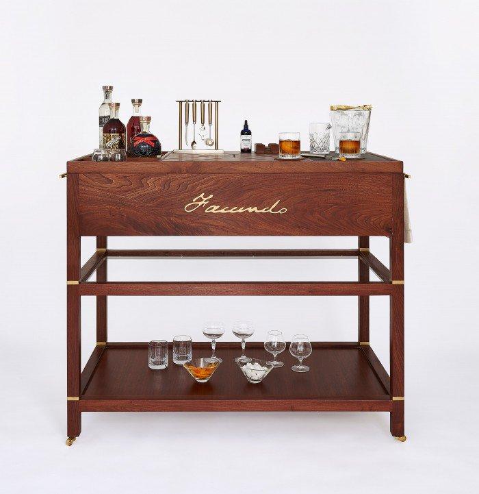 FACUNDO Luxury Bar Cart
