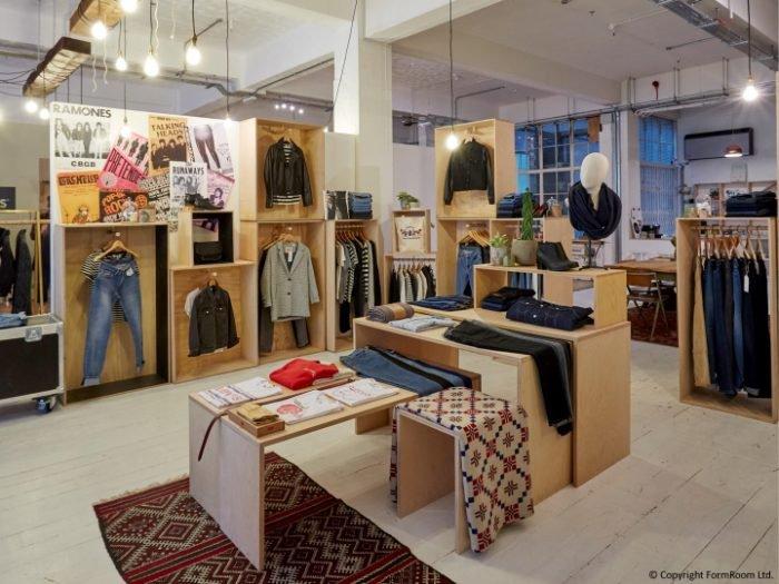 Levi's showroom