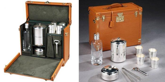 Portable Whiskey Bar By Louis Vuitton