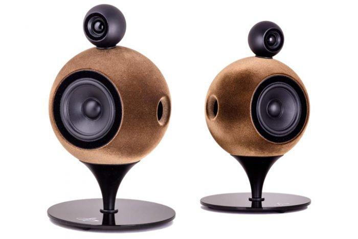 Deluxe Acoustics spherical Hi-Fi speakers