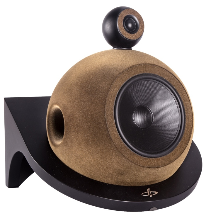 Deluxe Acoustics Spherical Hi Fi Speakers Luxury Retail