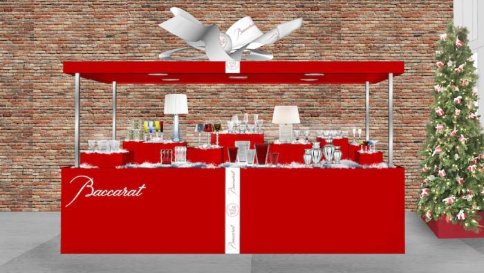 Baccarat opened first Pop-Up store in New York