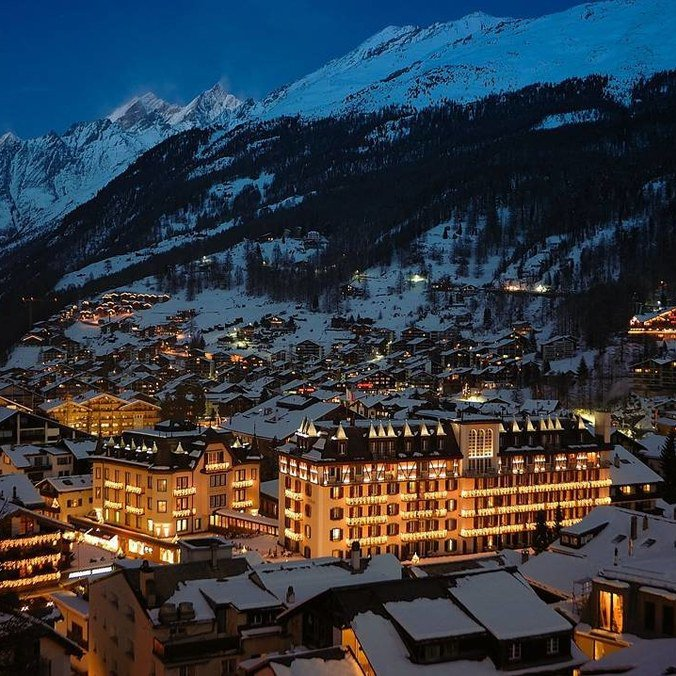 The 14 most luxurious ski hotels