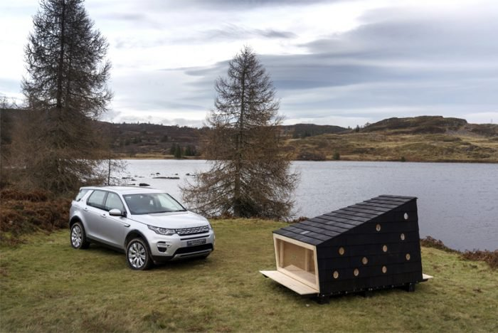 Wilderness Cabin from Land Rover