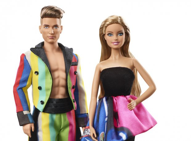 Moschino, Barbie And Ken