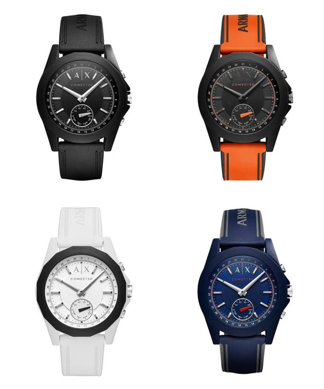 a908a38da8e Armani Exchange s first hybrid smartwatch has rugged good looks ...