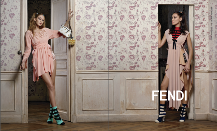 Bella Hadid stars in Fendi