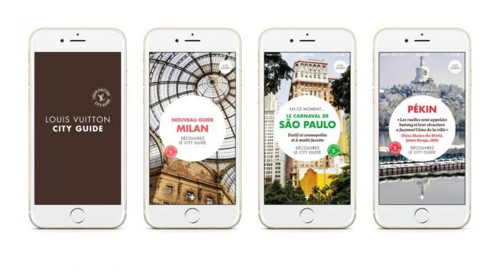 Louis Vuitton city guide apps