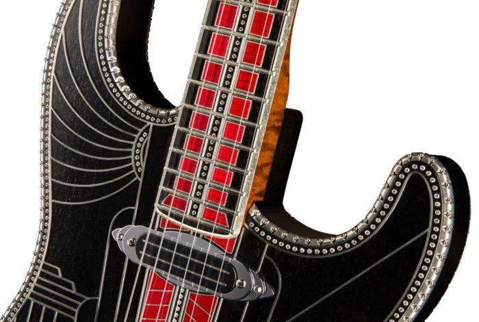 """Studioliner"" diamond guitar by Fender"