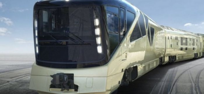 Shiki-Shima, the ultra-luxurious train
