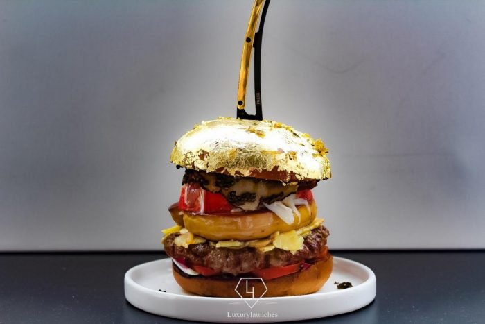 The most expensive hamburger in the world