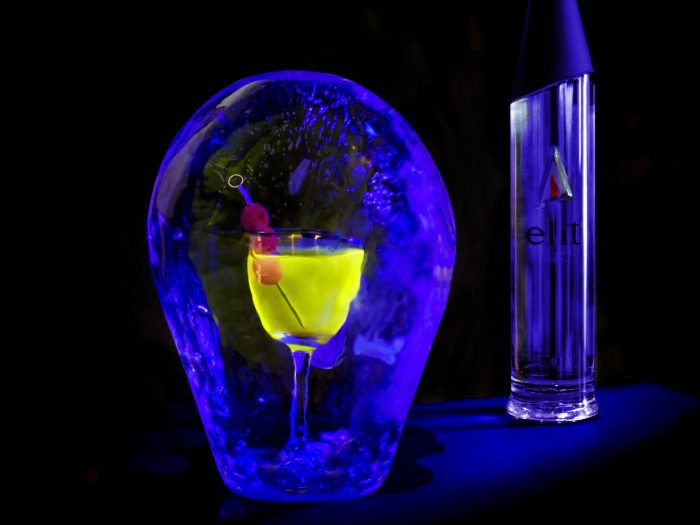 Glow In The Dark Martini