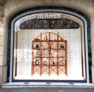 """Hermès Clock"" by Xavi Mañosa"