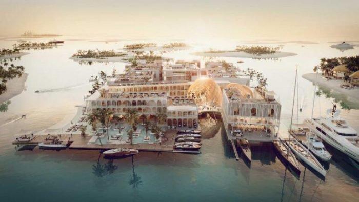 """The Floating Venice"", Dubai"