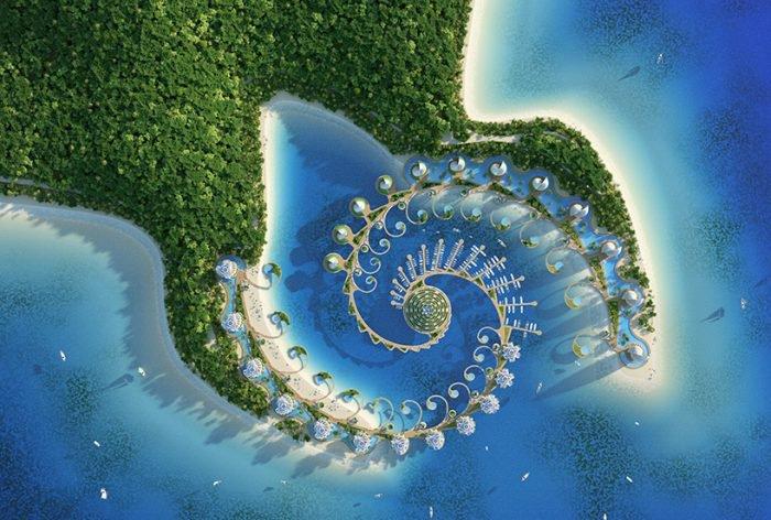 Eco-resort in the Philippines