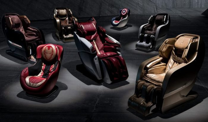 Lamborghini massage chairs