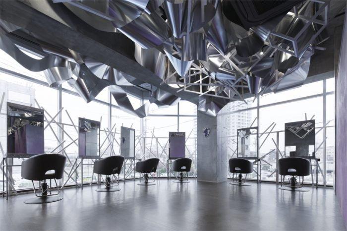 'Crystalscape' beauty salon, Tokyo