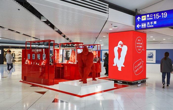 """""""Armani Box"""" Hong Kong"""