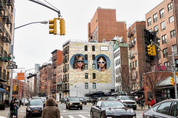 Gucci 'Art Walls' in Milan & NY