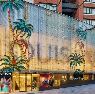Louis Vuitton's Tokyo Store