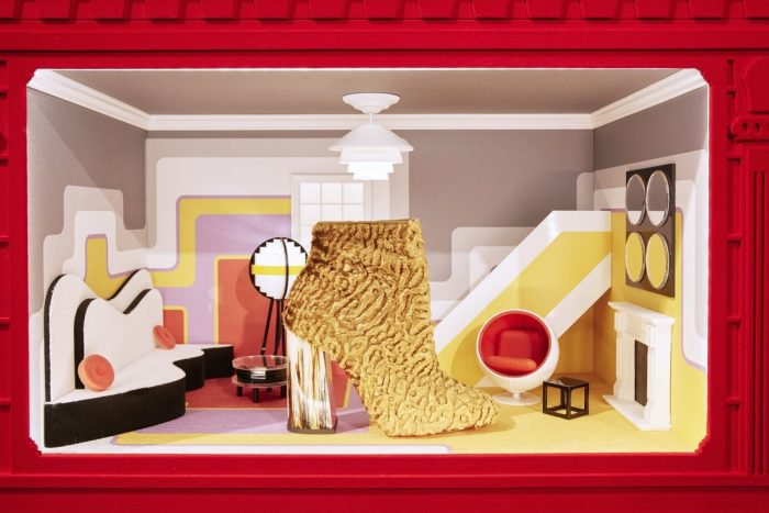 Christian Louboutin's Custom Dollhouse