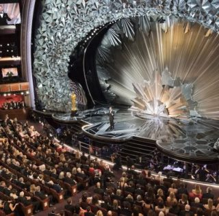 The 2018 Oscars Stage Is A Glittering Crystal Hell
