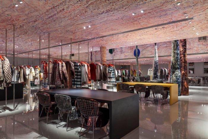 Calvin Klein 205W39NYC opens Paris