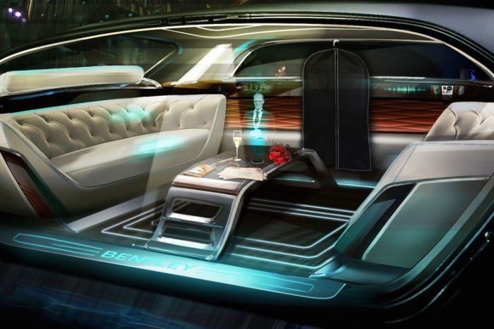 Bentley with a holographic butler