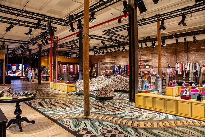 Gucci Unveils Concept Store, Soho NY