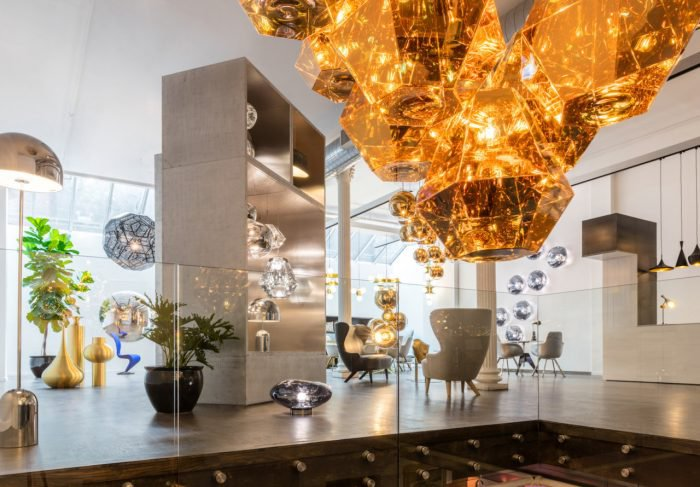 Tom Dixon new Showroom in Soho New York