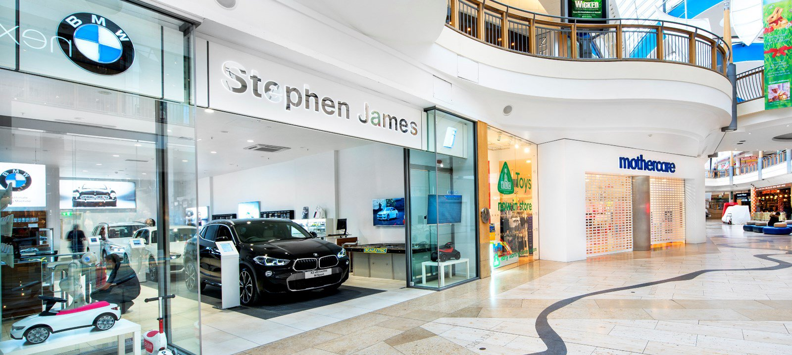 bmw opens first uk urban store for cars luxury retail. Black Bedroom Furniture Sets. Home Design Ideas