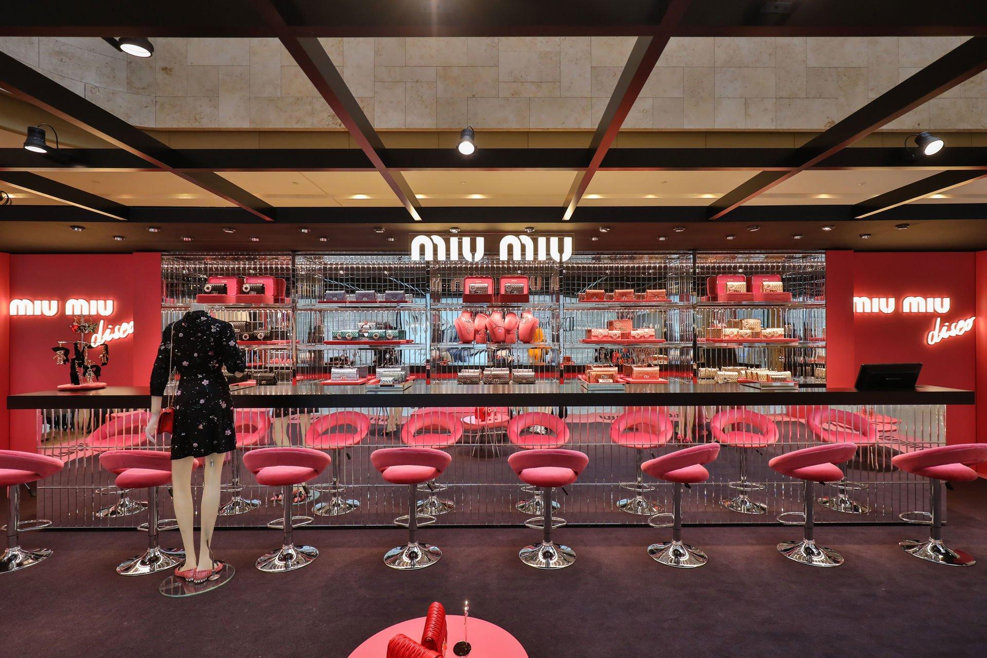 Miu Miu Disco Pop Up Store Hong Kong Luxury Retail