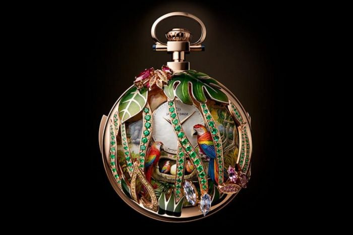 The Parrot Repeater Pocket Watch