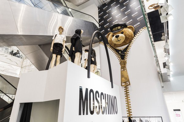 'Moschino Loves Printemps'