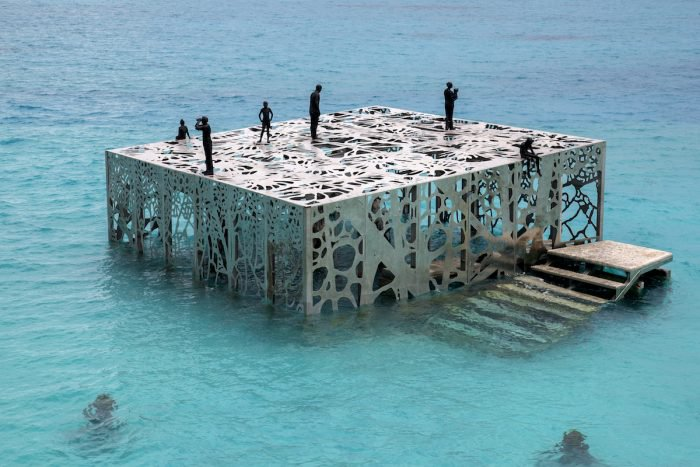 """""""Coralarium"""" underwater art installation"""