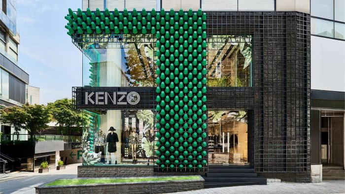 Kenzo a new flagship store in Seoul