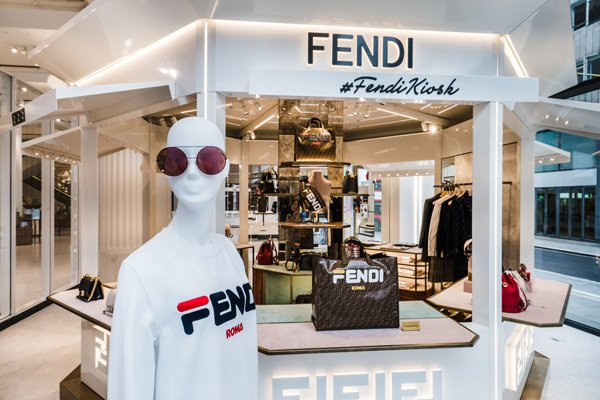 eeee29fea43c The store will also launch the Fendi x Fila collection