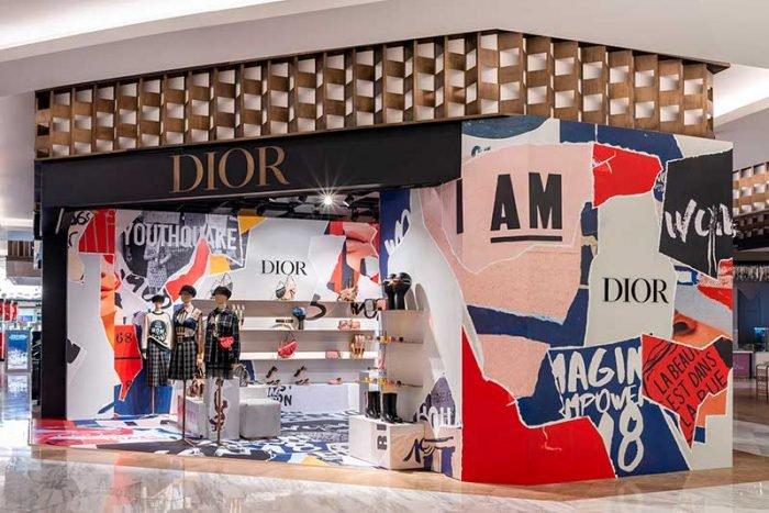 Dior pop-up store Mexico
