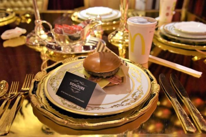 McDonald's opens luxury pop-up in Kensington