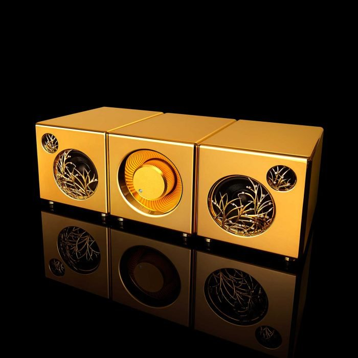 Solid gold speakers River'sTone